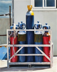 gas bottles by peter smets