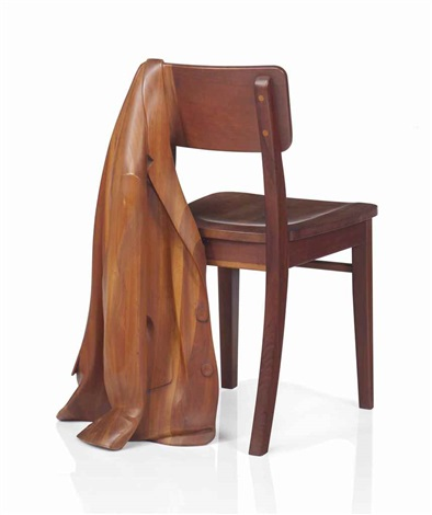 Chair With Sport Coat By Wendell Castle