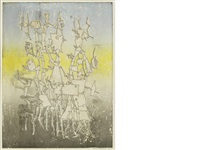 rhabdomancie (from brunidor portfolio no. 1) by yves tanguy