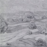 desert scene by lloyd moylan