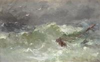 furtună pe mare by eugen (cean) voinescu