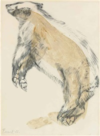 badger by elisabeth frink