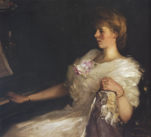 at the piano by david alison