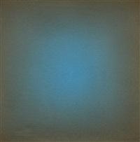 chromatische fläche blau-braun by raimer jochims