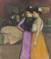 scène de cabaret by ramón pichot girones