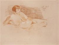 nudo di donna by otto dix