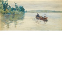 canoeing by william thomas smedley