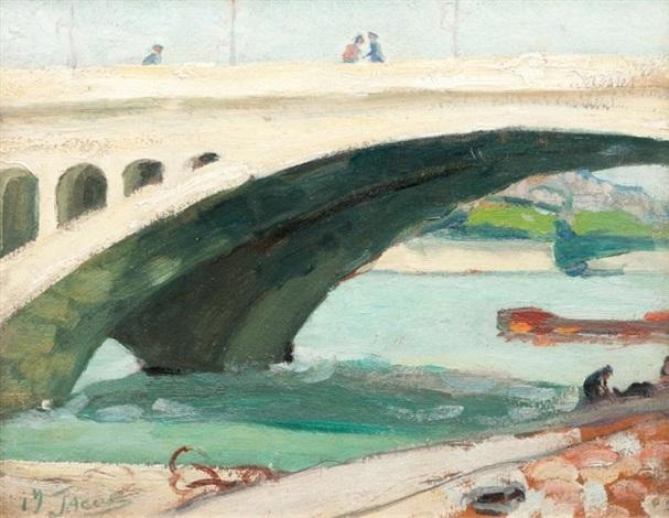 pont sur la seine by max jacob