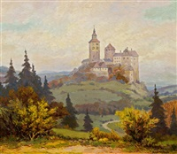 burg schlaining im tauchental by albert kollmann