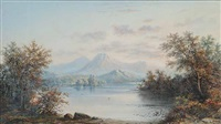 untitled (still mountain lake) by henry nesbitt mcevoy