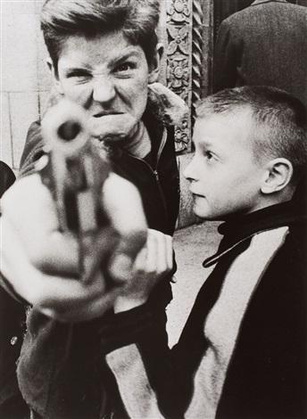 gun 1 new york by william klein