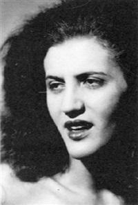 portrait of a woman by andré vigneau