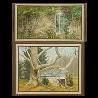 two works: country home by jean franz miller