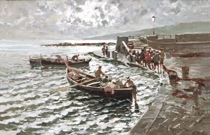 ritorno dalla pesca by emmanuele costa