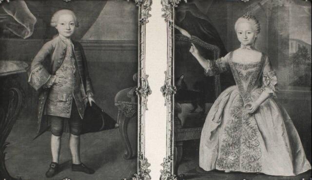 portrait of a boy portrait of a girl by guillaume jean joseph de spinny