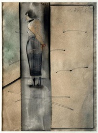 mujer amarrada by juan sanchez