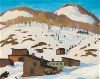 sketch in winter by edwin headley holgate