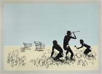 trolleys (bethlehem edition) by banksy