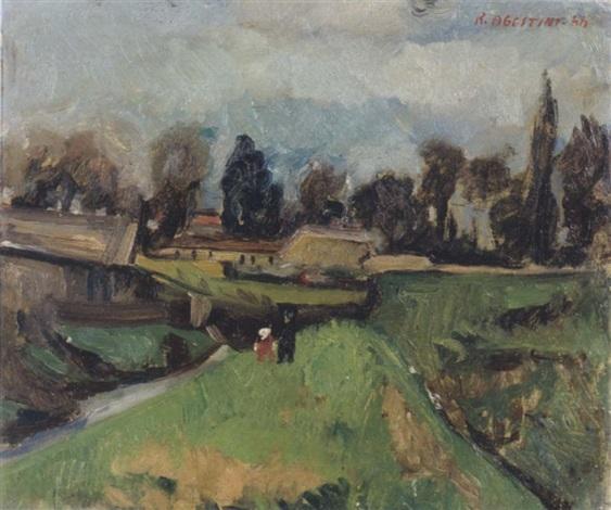 paesaggio by renzo agostini