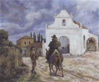 chapelle à monchique, portugal by paul-emile colin