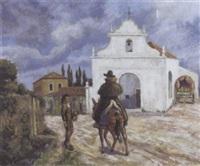 chapelle à monchique, portugal by paul-emile colin