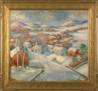 winter landscape by susan gertrude schell
