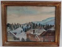 winterlandschaft by erich miller von hauenfels