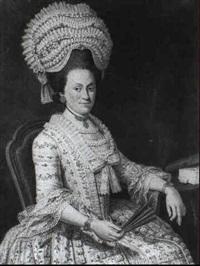 a portrait of a lady by nicholaes muys