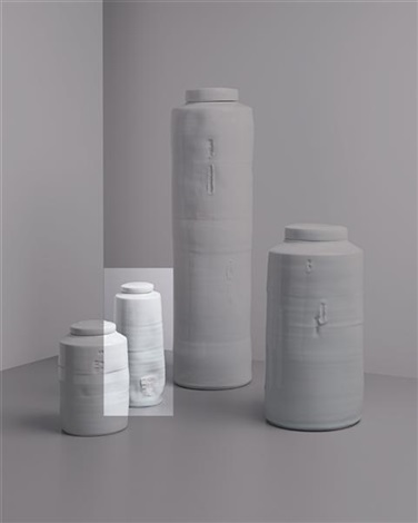 lidded vessel by edmund de waal