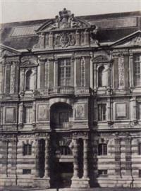 pavillon de la bibliothèque du louvre, pl.7 by francois alphonse fortier