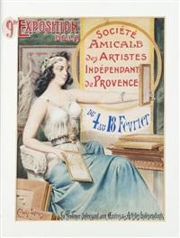 la provence s'intéressant aux oeuvres des artistes indépendants by emmanuel coulange-lautrec
