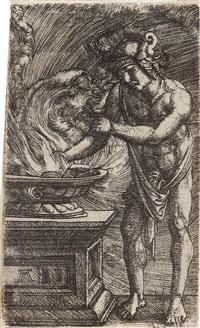 mucius scaevola by albrecht altdorfer