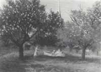 the hammock, gorham, maine by charles b. fuller
