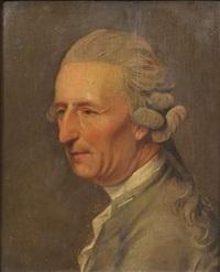 portrait de gentilhomme by johann heinrich schmidt