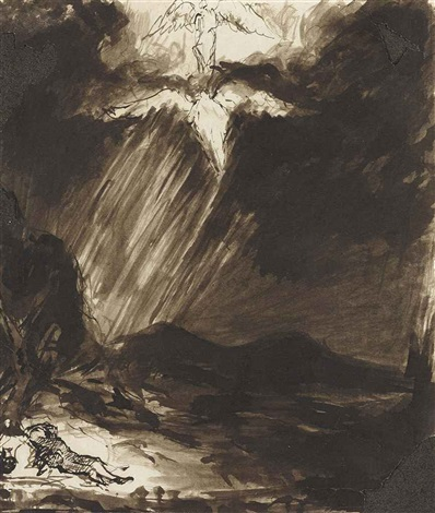 study of jacobs dream after aert de gelder by john constable