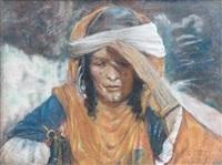 marocaine au soleil by lucien lévy-dhurmer