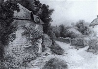 outside the cottage by t. noel smith