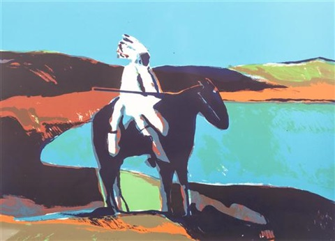white chief by fritz scholder