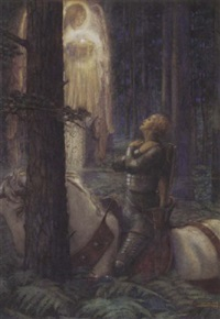 sir galahad by maud tindal atkinson
