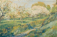 spring in wittlaer by maximilien (max) clarenbach
