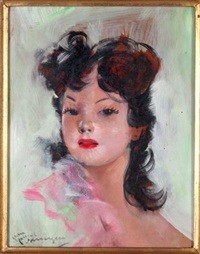margot by jean-gabriel domergue