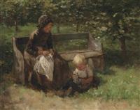 in the park by jacob simon hendrik kever
