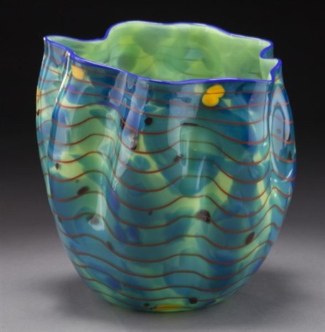Dale Chihuly Freeform Blown Glass Vase By Dale Chihuly On Artnet