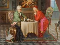 playing chess by ludwig augustin