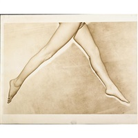 untitled (model's legs) by erwin blumenfeld