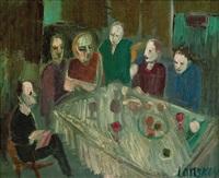 le repas by andré lanskoy