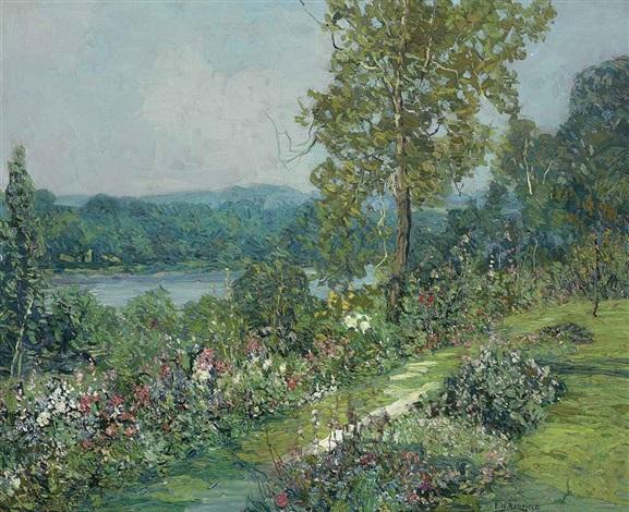 spring landscape by edward willis redfield