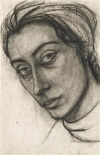 autoportrait by m. a. poniatowki-krugier