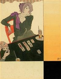 kartenspiel (entwurf für die vogue) by joseph bolegard
