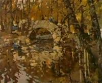 le parc de pouchkine by vassili vasilievitch sokolov